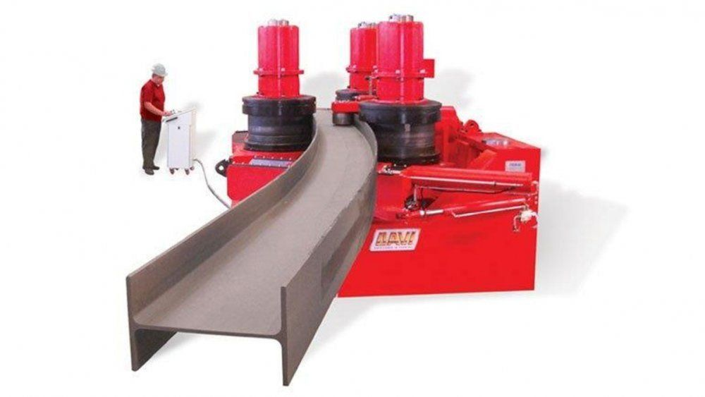 NEW Heavy Section Rolling Machine!